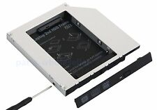 12.7mm PATA IDE to SATA Hard Drive 2nd HDD Caddy Bay for HP DV2000 DV6000 DV9000