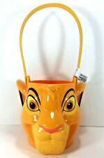 NEW Disney Lion King SIMBA Candy Sand Toy BUCKET Figure Storage Bin Gift Basket