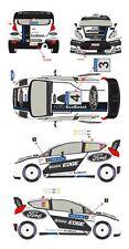 1/43 Decal Ford Fiesta WRC #3/4 Rally Finlande 2012