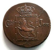 PL -  NORVEGE/NORWAY - 2 Skilling. 1822 Charles IV (RARE)
