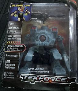 new Tekforce Motorized Action Figure Series - Deep Dive, Blue