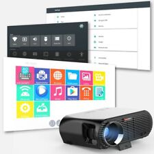 GP100UP Android 6.0 WiFi Projector 1G+8G HD 1280x800 Home Theater LED Projector