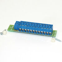 1 Set Power Distribution Board 2 Inputs 24 Outputs for DC and AC Voltage Everest