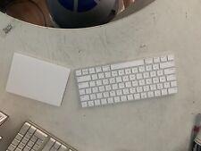 Apple Magic Trackpad 2 And Magic Keyboard Bundle (white) - Bluetooth
