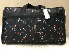 LeSportsac Candace Classic Weekender Duffel Bag Confetti MSRP $125