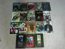 Batman job lot DC Comics graphic novel trade paperback tpb first edition