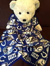 Indianapolis Colts Football Fleece Sports Baby Blanket 30X36""