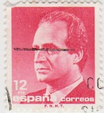 (SPA105) 1985 Spain 10p red round corner ow2878