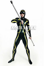 Tron Legacy Cosplay Latex Catsuit, Latex Tight Catsuit, Rubber Catsuit