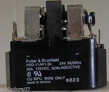 RELAY MAG BLOW Potter & Brumfield PRD 11AK1- 24  9823 20A 125 VDC  Welder HOBART