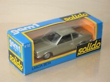 Solido No. 52 Lancia Beta Coupe 1600 - silver, MINT BOXED - 1:43, French diecast