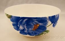 "Roscher RRM41 BLUE ROSE Soup/Cereal Bowl 6"" x 2 3/4"""