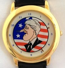 NEW  PRESIDENT BILL CLINTON PINOCCHIO ANIMATED GROWING NOSE COLLECTOR'S WATCH
