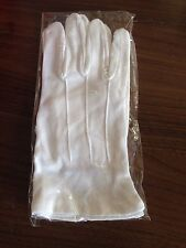 white gloves - new - Masonic / Parade / Waiter / Formal / Work - Lots To Sell.