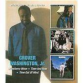 Grover Washington, Jr. - Strawberry Moon/Then & Now/Time Out of Mind (2CD)  NEW