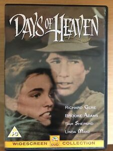Days of Heaven DVD 1978 Terrence Malick Western Classic w/ Richard Gere