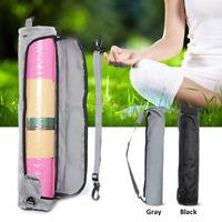 Yoga Pilates Mat Bag Holder Carry Strap Bag Pocket Sport Gym Fitness Backpack