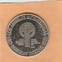 (T) Token - Los Angeles, CA - Bicentennial - In Conquest of Space - 38 MM
