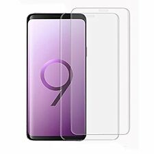 Samsung Galaxy S9 Screen Protector 9H Ultra Clear Curve Design Shatterproof 2 P