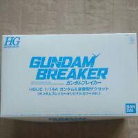 SONY PS Vita ZAKU GUNDAM BREAKER HGUC Figure Plastic kit only
