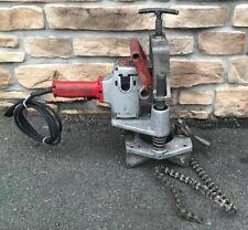 Victaulic Vhct 900 T Drill Hole Cutting Pipe Drill Ridgid Rigid 300 4