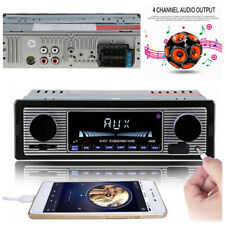 Car Stereo Dual knob Built-in Bluetooth+microphone USB/SD/FM Radio Player&Remote