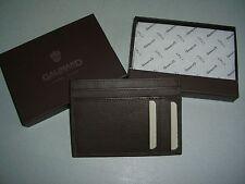 porte-monnaie  cartes   GALIMARD cuir marron neuf