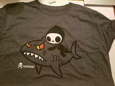 NWT Tokidoki Men's T-Shirt Reaper Shark XL Extra Large