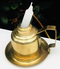Brass Drip Tray Candle Stick Stand Holder Container With Candle