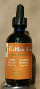 Nettles Tincture ~Allergies, Cleans & Detoxifies, Prostrate, High Minerals 2 oz