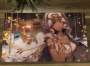 Yu-Gi-Oh! Playmat ishizu ishtar TCG CCG Mat Custom Trading Card Game Mat BH243
