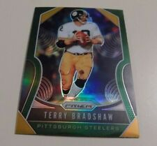 2019 PANINI PRIZM FOOTBALL GREEN PARALLEL #286 TERRY BRADSHAW CARD