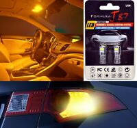 LED 3030 Light Orange Amber 194 Two Bulbs Rear Side Marker Parking Upgrade OE