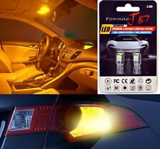 LED 3030 Light Orange Amber 194 Two Bulbs Rear Side Marker Parking Upgrade OE