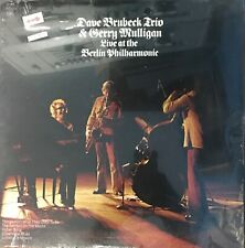 DAVE BRUBECK TRIO GERRY MULLIGAN Live At The Berlin Philharmonic SEALED LP Jazz