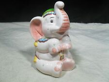 Collectable ~ Ceramic Elephant Bank ~ Circus Elephant (#2)