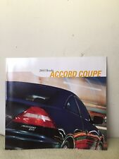 2003 Honda Civic Accord Coupe Brochure