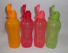 Tupperware 500 ML - 17oz Flip Top Water Bottles -Set of 4