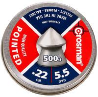 500 X Crosman Ponted .22 / 5.5mm Pointed Penetration Pellets - Full Tin