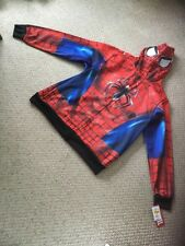 NWT Disney Marvel Spider-Man Full Face Hoodie Jacket.  MENS Size 2 Extra Large.