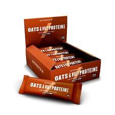 Myprotein Avoine & Protéine Lactosérum Barre Repas Rechange 18 Par Boite Emballé