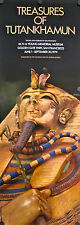 Orig 1976 Treasures of Tutankhamun Poster - CLOSE-UP - museum tour VERY RARE!