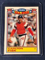 1986 Topps CARLTON FISK All-Star Glossy Card #9 of 22 - Chicago White Sox  MINT