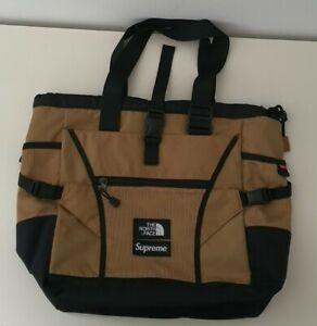 SS20 Supreme x The North Face Adventure tote bag gold TNF