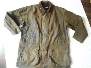 VINTAGE BARBOUR NORTHUMBRIA WAXED JACKET SIZE XL