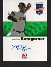 2008 Tristar Projections #73 Madison Bumgarner Autograph /50 RC Giants