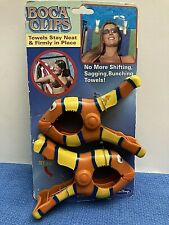 Boca Clips Clown Fish Sun Beach Towel Holder Pool Spa Cruise Boat Chair Lounge