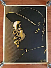 OBEY x J DILLA POSTER Signed by B+ MA DUKES Shepard Fairey #139/400 Jay Dee DOPE