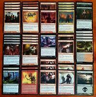 VAMPIRE BLACK RED! * Vampire Tribal Custom Magic Deck * Wizards of the Coast