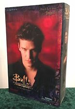 "12"" 1:6 BUFFY VAMPIRE ANGEL (DAVID BOREANAZ) FIGURE DOLL SIDESHOW MIB"